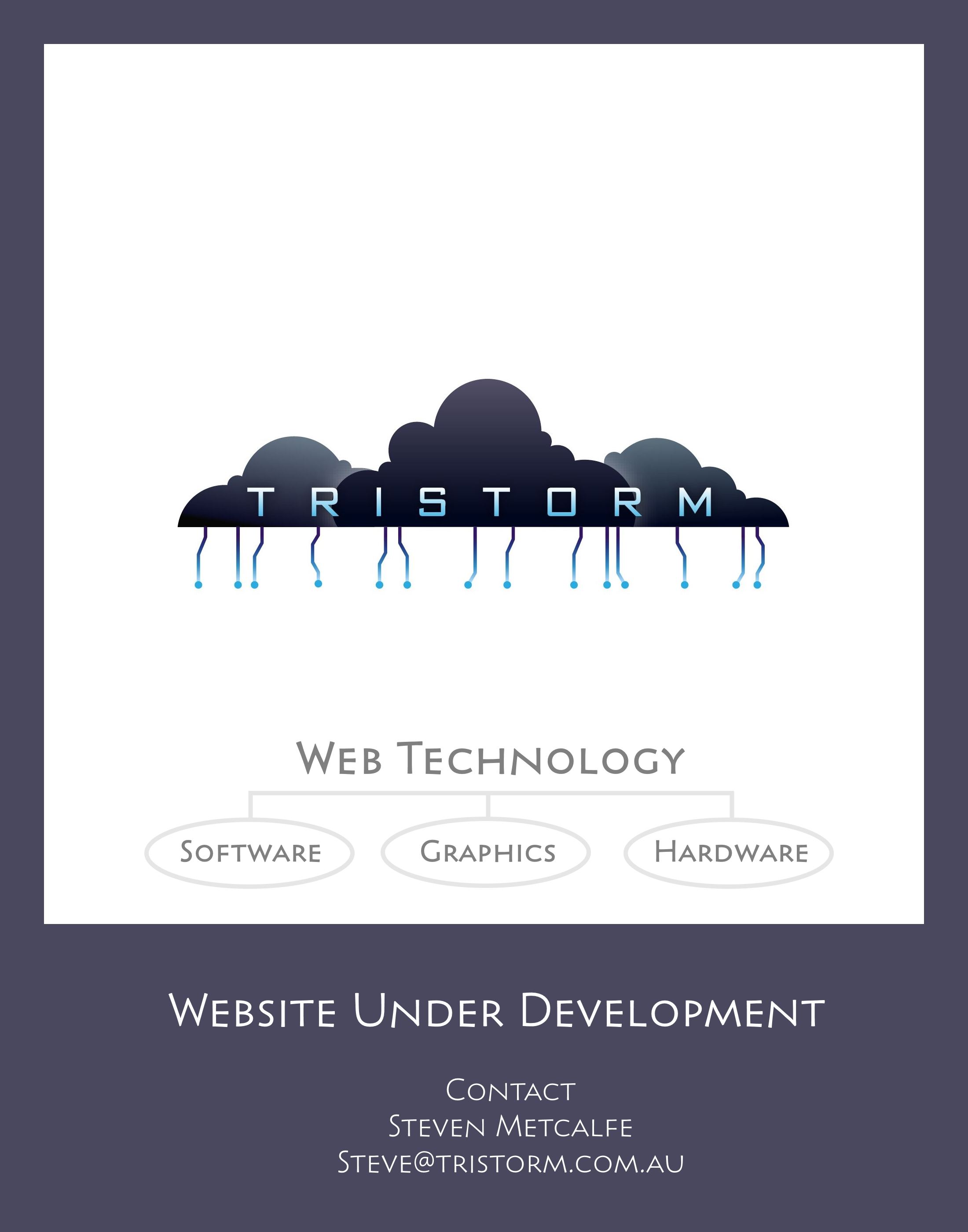Tristorm - Web Technology: Site Under Development
